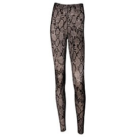 anita sport tights massage fitnessbroek dames python