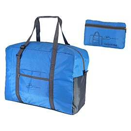 bardani carry-on bag opvouwbare tas blauw antraciet