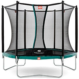 berg toys talent trampoline 240 met safety net comfort