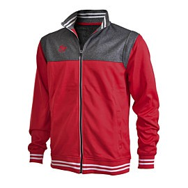 brabo tech jacket trainingsjack heren red