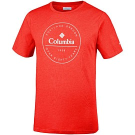 columbia onchan park shirt heren mountain red