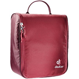 deuter wash center ii toilettas cranberry maron