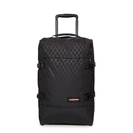 eastpak tranverz s trolley levelled black