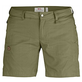 fjallraven abisko shade short dames savanna
