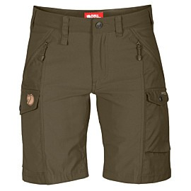 fjallraven nikka short dames dark olive