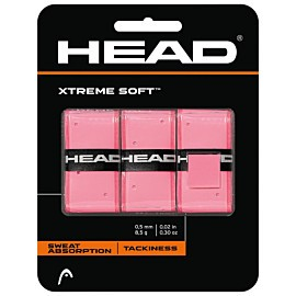 head xtremesoft 3-pack overgrip pink