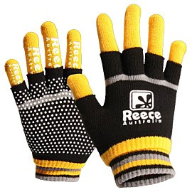 reece australia knitted player 2 in 1 handschoenen senior geel