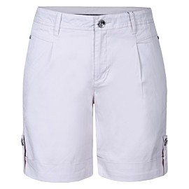 luhta pink short dames optic white
