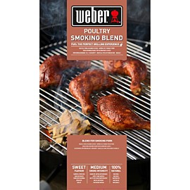 weber poultry smoking blend houtsnippers