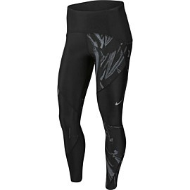 nike speed 7/8 tight hardloopbroek dames black reflective silver