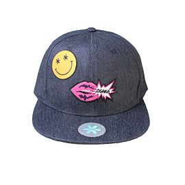 osaka lips smiley pet denim