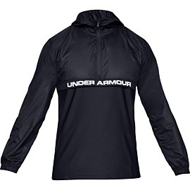 under armour sportstyle woven layer hardloopjack heren black