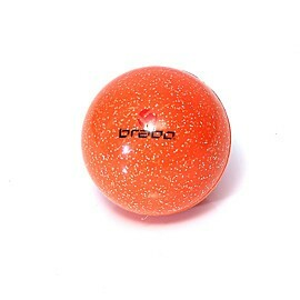 brabo smooth glitter hockeybal orange