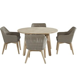 taste by 4 seasons derby avila tuinset teak pebble
