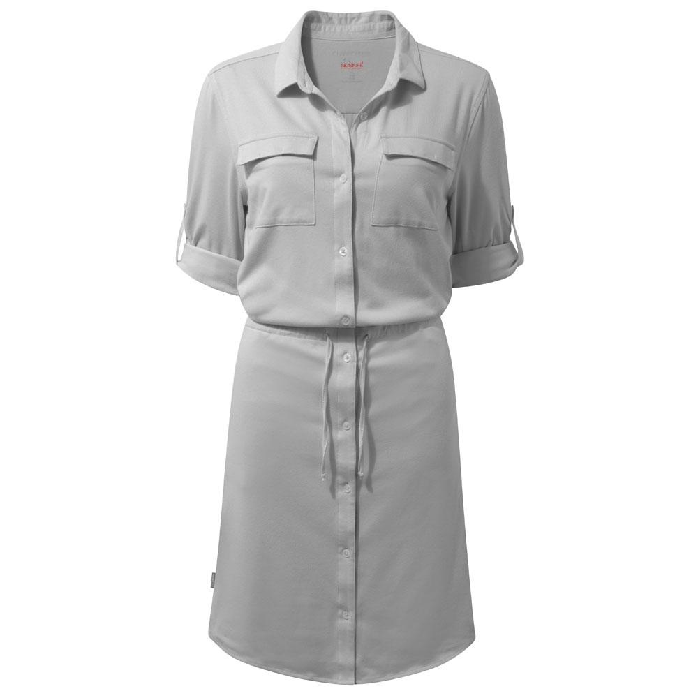 Afbeelding van Craghoppers NosiLife Daku Dress Jurk Dames Soft Grey Marl