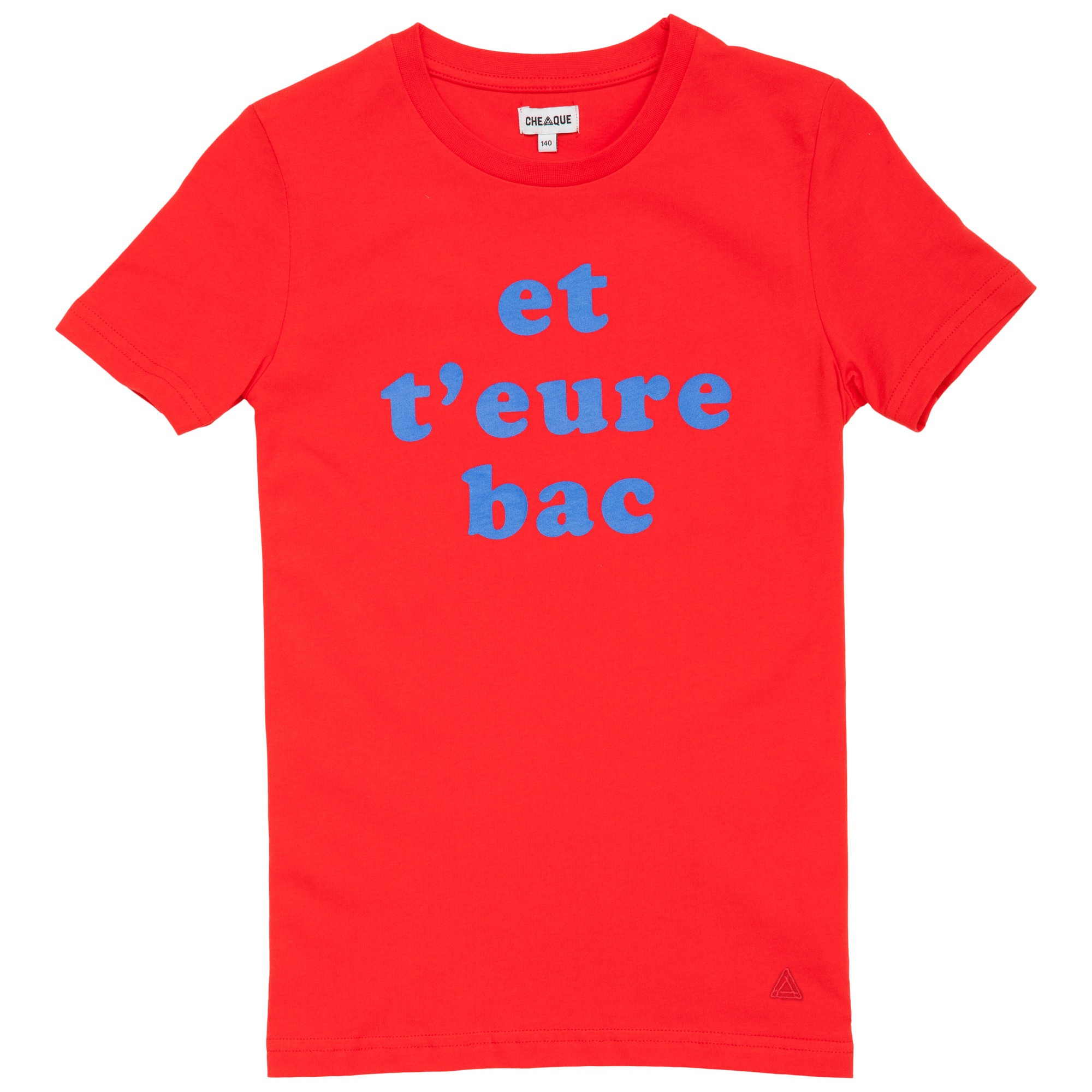 Afbeelding van Cheaque Et T'eure Bac Shirt Junior Red