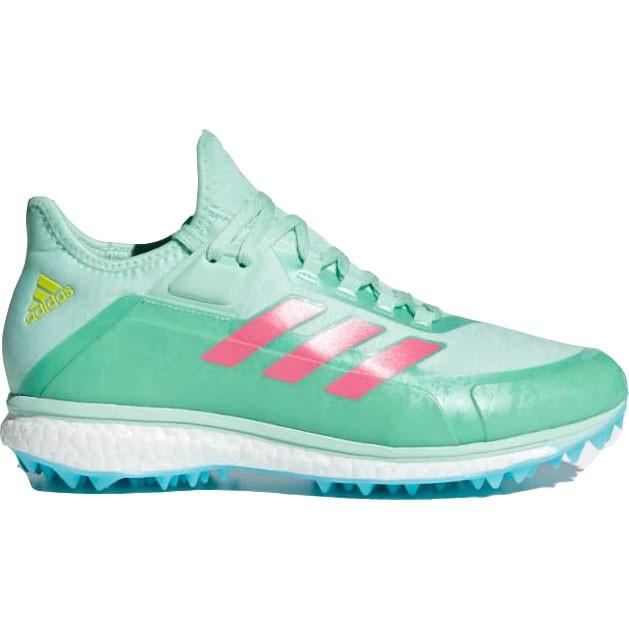 Afbeelding van Adidas Fabela X Hockeyschoenen Dames Clear Mint Real Pink Shock Yellow