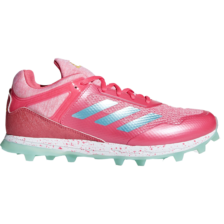 Afbeelding van Adidas Fabela Zone Hockeyschoenen Dames Real Pink Light Aqua Clear Mint