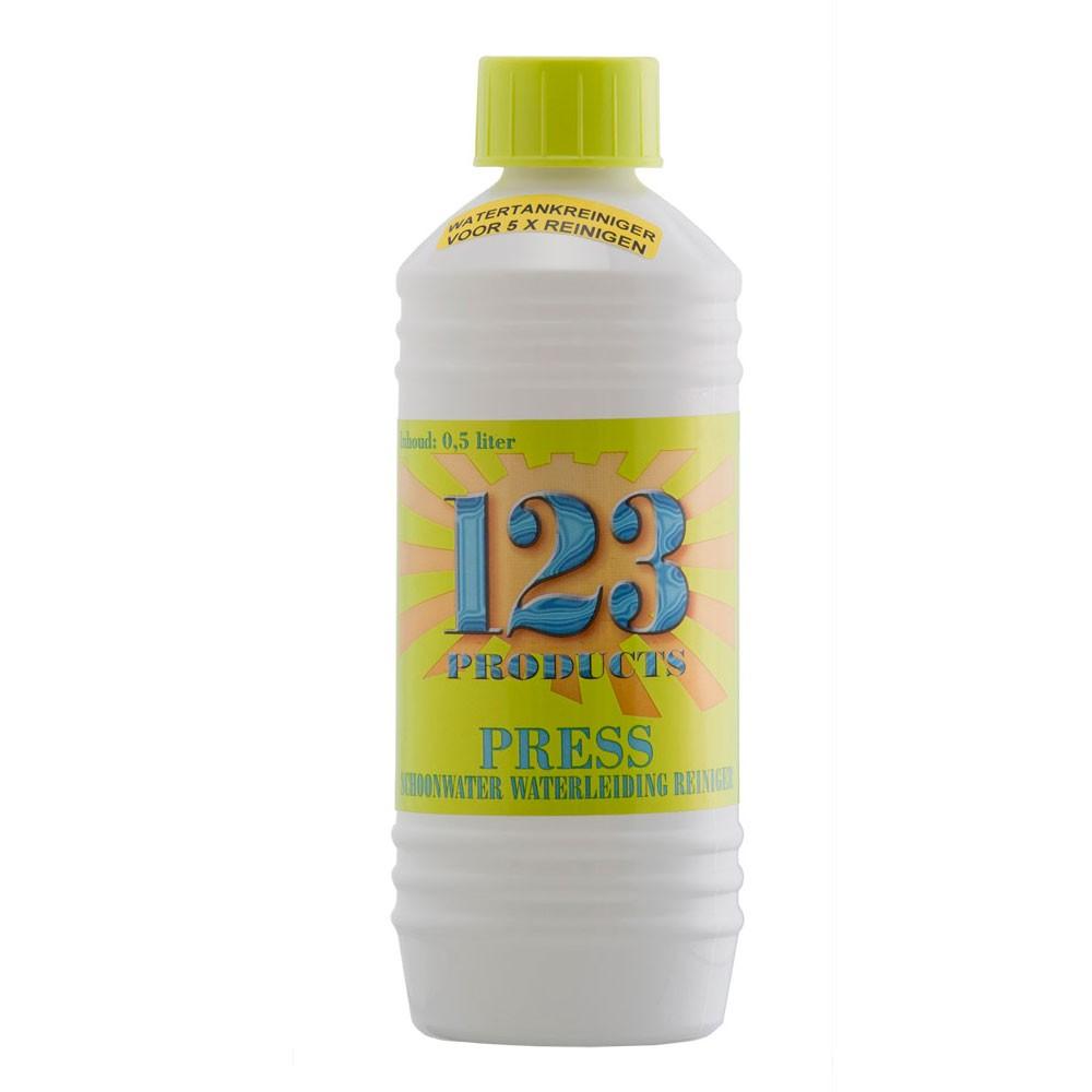 Afbeelding van 123 Products Press Schoonwatertank En leiding Reiniger 500 Ml