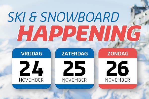 Ski & Snowboard Happening bij De Wit Schijndel!