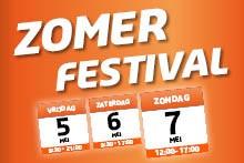 5, 6 en 7 mei Zomerfestival bij De Wit Schijndel!