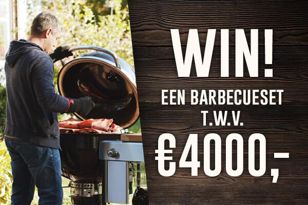 Maak het mooiste BBQ gerecht en win 2 luxe Weber barbecues