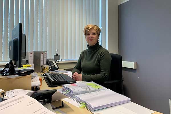 Astrid Terneusen 40 jaar in dienst