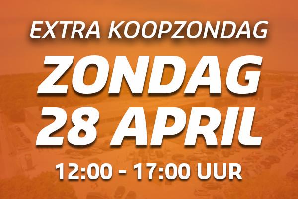 Koopzondag 28 april bij De Wit Schijndel