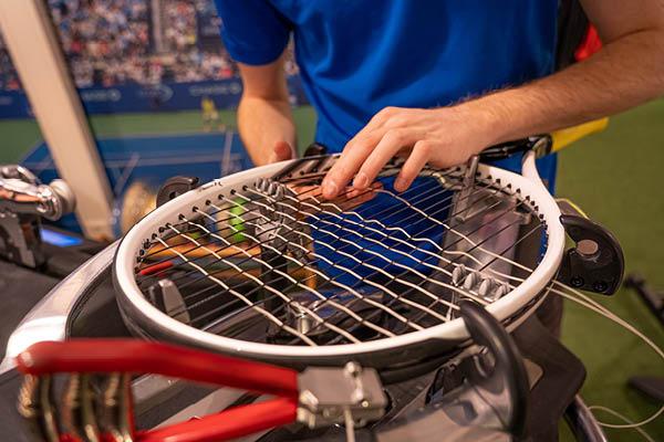 Bespanservice tennisrackets