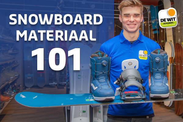 Kom alles over snowboard materiaal te weten!
