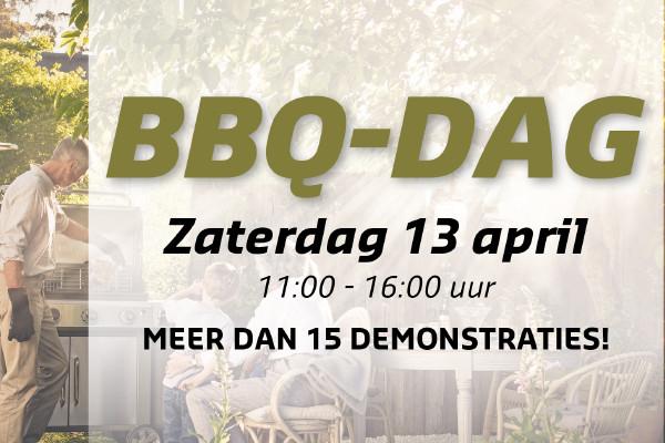 13 April BBQ-dag bij De Wit Schijndel