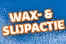 Wax- en slijpactie 2018
