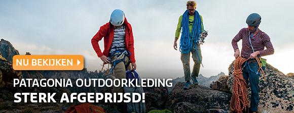 Patagonia outdoorkleding sterk afgeprijsd