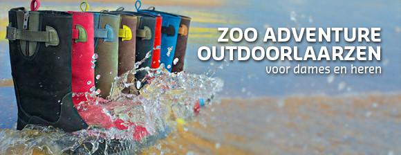 ZOO Adventure outdoorlaarzen!