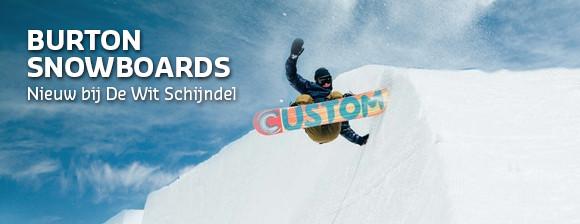 Nu bij De Wit Schijndel, Burton snowboards!