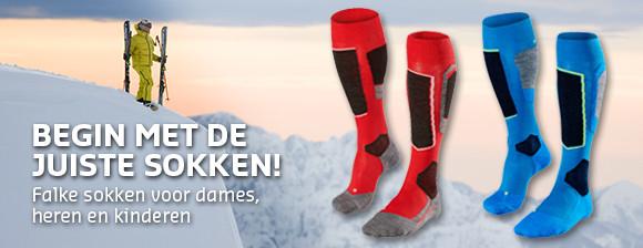 Begin met de juiste sokken!