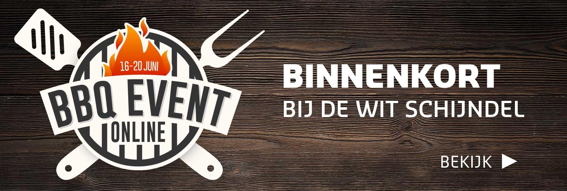 Het online BBQ Event komt eraan!