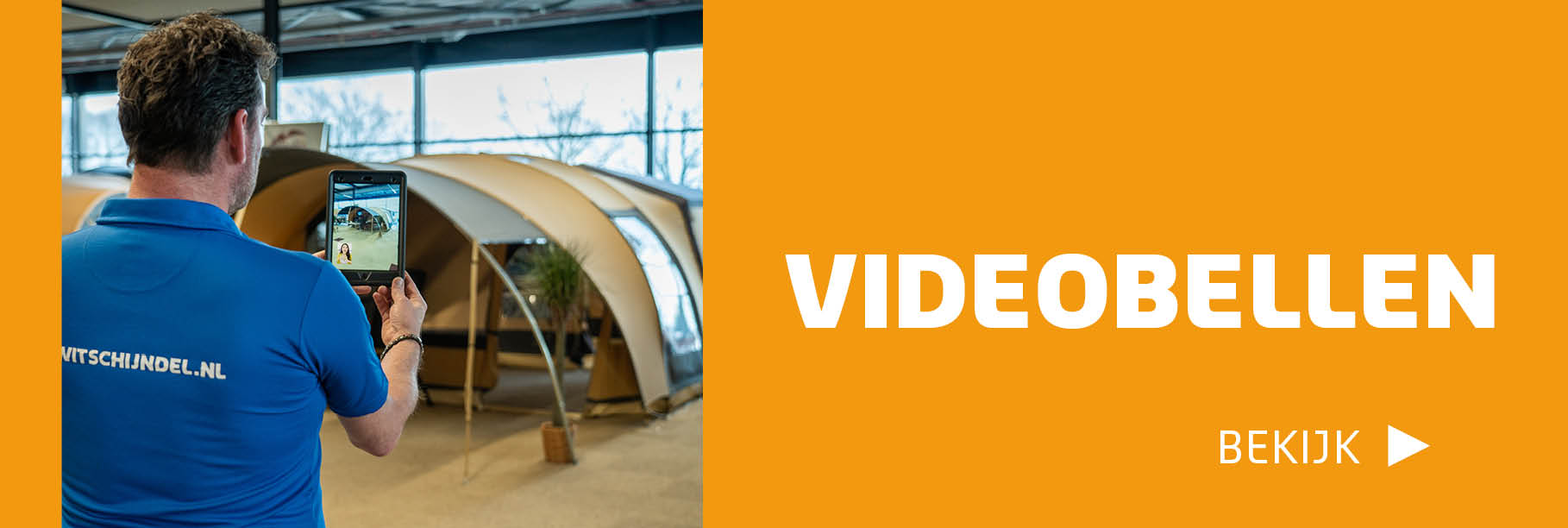 Videobellen afdeling Vouwwagens