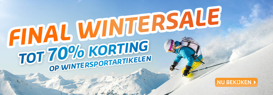 Prijsafdalingen! Tot 50% korting op wintersportartikelen