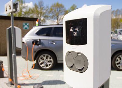 Gratis oplaadpunt elektrische auto