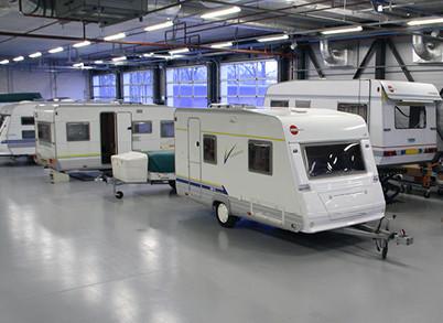 Service voor caravan en camper