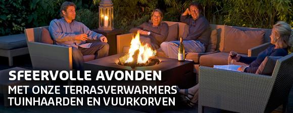 Sfeervolle avonden met onze terrasverwarming