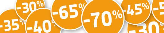Sale met kortingen tot wel 70%