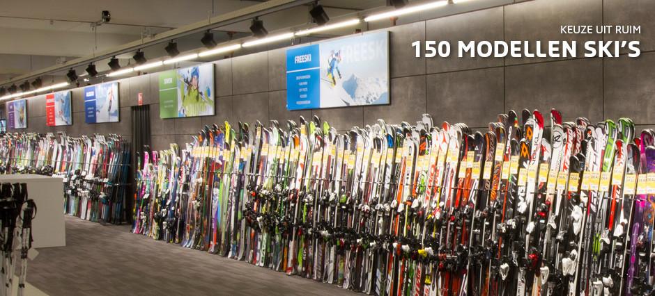 Grootste assortiment ski's van Nederland