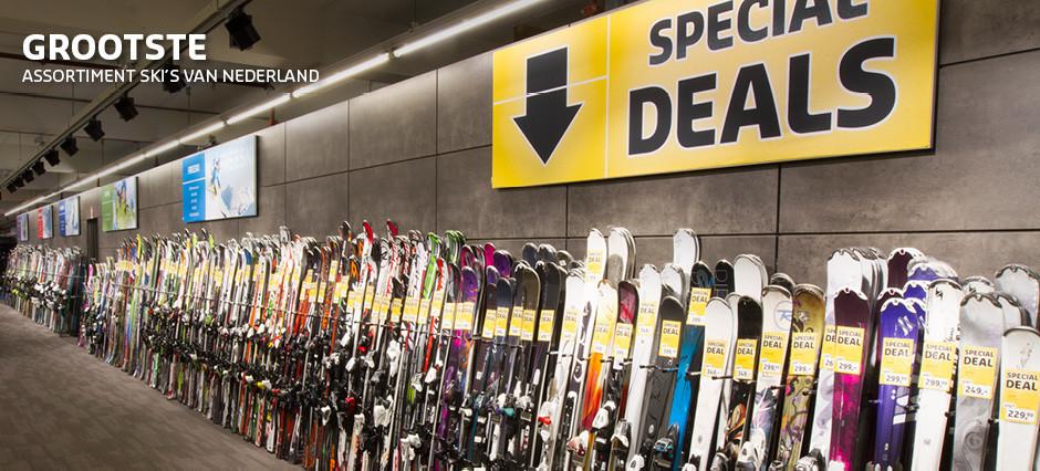 Alle topmerken ski's onder een dak